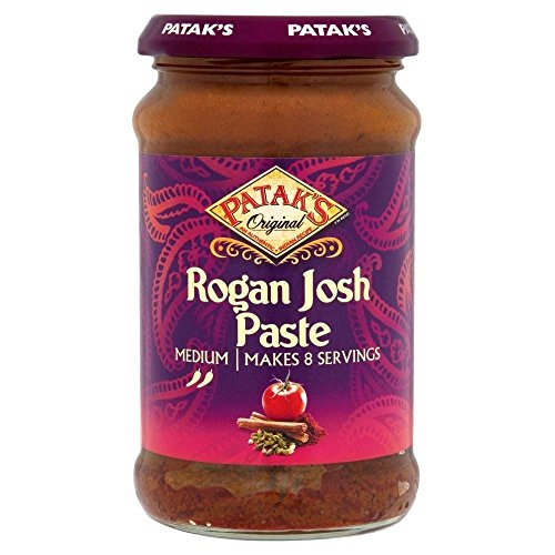 Moyen Rogan Josh Curry Paste de Patak (283g) - Paquet de 2