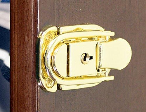 Hot Wheels/Streichholzschachtel für Autos in Retail Boxen Display Hülle Schrank W/UV-Tür, eiche (Display-box Eiche)