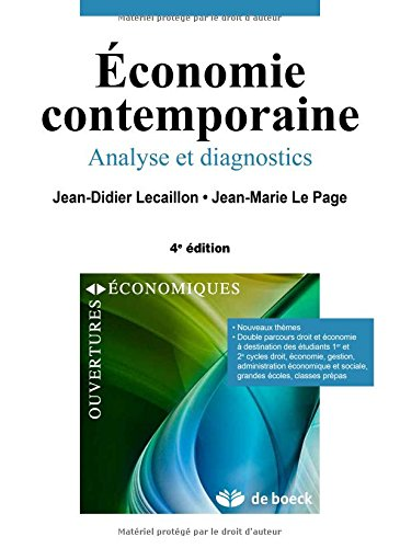 Économie contemporaine analyse et diagnostics