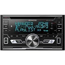 Kenwood dpx de 5100bt Receptor Doble Din con Bluetooth y Apple iPod/iPhone de control negro