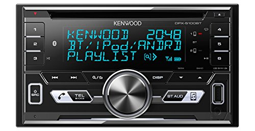 Bluetooth Kenwood (Kenwood DPX-5100BT Doppel DIN-Receiver mit Bluetooth und Apple iPod/iPhone-Steuerung schwarz)