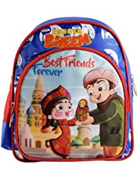 Chhota Bheem Polyester 13 Cms Blue And Red Children's Luggage (GGSCB-CB29C)