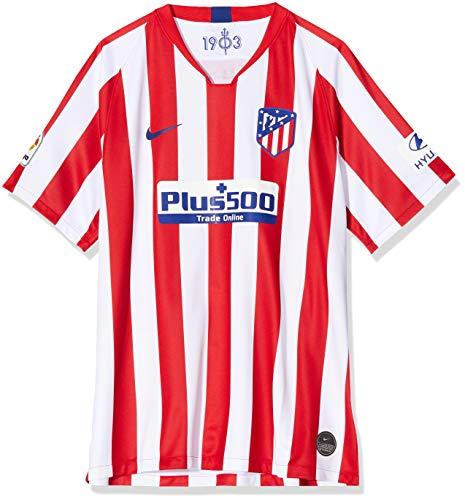 Nike Atlético de Madrid 2019/2020 Camiseta, Hombre, Rojo/Blanco 1ª Equipación, 3XL