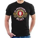 Cloud City 7 Casa De Papel EL Profesors Money Heist Mens T-Shirt