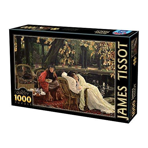 Preisvergleich Produktbild D-TOYS 2 - Puzzle 1000 James Tissot