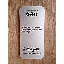Cargador Portátil Universal para Smartphones 6000mAh (Para colocar en Maletas)