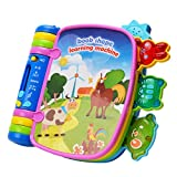 WISHTIME Musical Book Flip Learning Toys BN17019 Early Learning Educational eBook Toys with Light and Sound Interactive for Baby, 1 Year Old, Toddler