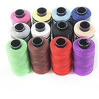 Pixnor 12pcs Spulen Sewing Thread Sewing Kit Garn Spulen Saiten Nähgarn