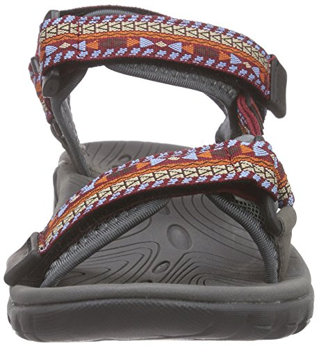 Northland Professional Unisex-Erwachsene Outbacks Sandalen Rot (Red/Pacific 10)