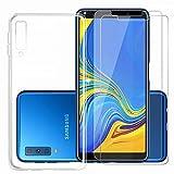 Samsung Galaxy A9 2018 Funda y Protector de Pantalla *2, MISSDU...