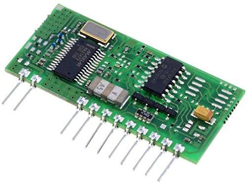 RX-4M-UP/LP Module RF AM receiver OOK 433.92MHz -114dBm 5VDC 650201168G AUREL -