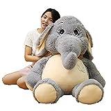 YEARYOWN Riesen Elefant Kuscheltier Plüsch Stofftiere Geschenke für Kinder Freundin,60CM