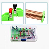 Whiie891203 School Physics DIY Electromagnet Model Kit Physical Experiment Educational Science Toy for Kids Junior Senior High School Students Elementary Electronics