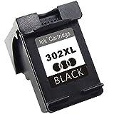TooTwo 302XL Wiederaufbereitet Tintenpatronen Ersatz für HP 302XL Multipack Druckerpatronen (1 Schwarz) Kompatibel für HP DeskJet 3630 1110 2130 3636, HP Envy 4520 4525