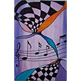 Original MisQue Art | Abstraktes Acrylbild Musik 40x60cm