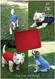 King Cole Dog Coats and Blanket Knitting Pattern K9
