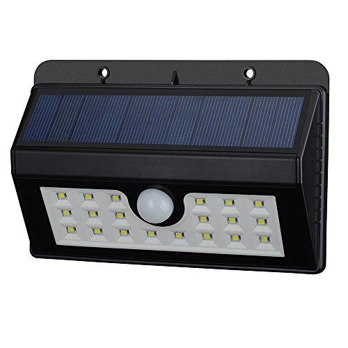 Mpow LED Solarleuchten [3 Intelligente Modi] Mpow 3-in-1 Wireless Wetterfeste Licht Bewegungs Sensor Lampe mit 20 LED für Garten, im Freien usw.