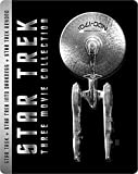 Star Trek Trilogy Limited Edition Steelbook / Import / Star Trek (2D),Star Trek Into Darkness (2D/3D), Star Trek Beyond (2D/3D) Region Free Blu Ray