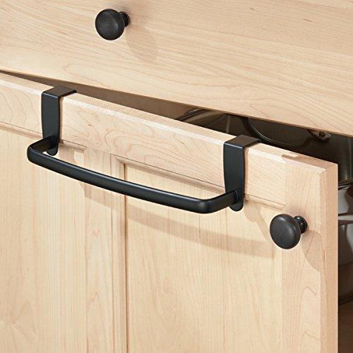 mDesign porta asciugamani cucina – porta strofinacci da appendere ...