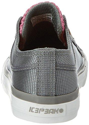 Ice Peak Wakady, Sneakers Basses Femme Gris (Grau)