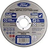 Ford Tools Stainless Steel/Inox Cutting Disc, 115mm x 1mm, FPTA-1056