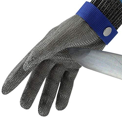 Dbtxwd guanti resistenti agli urti per guanti da lavoro guanti da lavoro in acciaio inossidabile 316l,1pcs,l