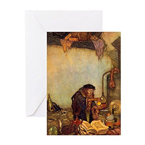 CafePress–Dulac Alchemist–Grußkarte, Note Karte, Geburtstagskarte, innen blanko, glänzend