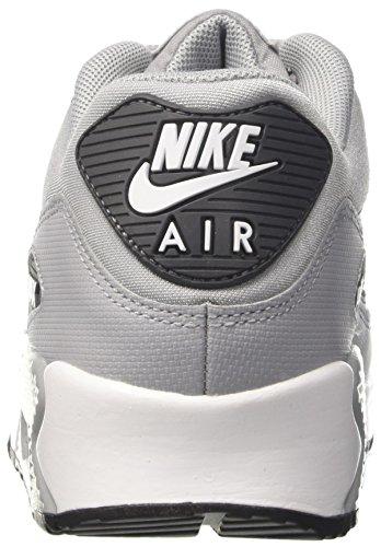 Nike Wmns Air Max 90, Chaussures De Gym Pour Femme Gris (gris Loup / Blanc / Gris Foncé / Blac 048)