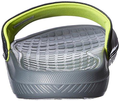 adidas  Voloomix, Ouvertes à l'arrière homme Gris - Grey/Charcoal