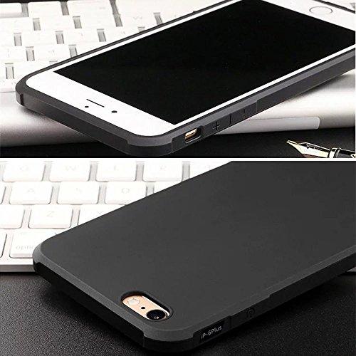 UKDANDANWEI iPhone 7 Plus Hülle, Gel TPU Case Stoßdämpfende Stoßfest Tasche Skin schutzhülle Etui Cover Schale für iPhone 7 Plus Blau Drachen Grau