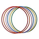 Hoopomania® Hula Hoop Rohling, HDPE-20mm, WEISS (milchig), Durchmesser 100cm