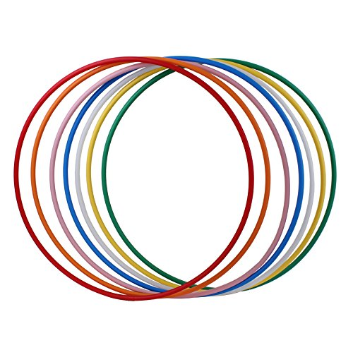 Hoopomania® Hula Hoop Rohling, HDPE-20mm, WEISS (milchig), Durchmesser 90cm