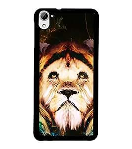 PRINTSWAG LION Designer Back Cover Case for HTC DESIRE 826