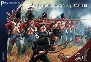 Perry Miniatures BH1 British Napoleonic Line Infantry 1808-15 28mm 40 Figures Hard Plastic