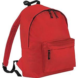 51LLRWvw2YL. SS300  - BagBase - Mochila casual rojo rojo