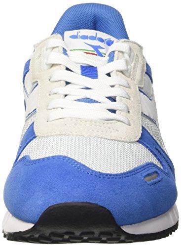 Diadora Unisex-Erwachsene Titan Ii Pumps Elfenbein (Bianco/blu Campanula)