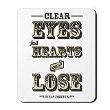 CafePress–Klar Augen voller Herzen–Rutschfester Gummi-Mauspad, Gaming Maus Pad