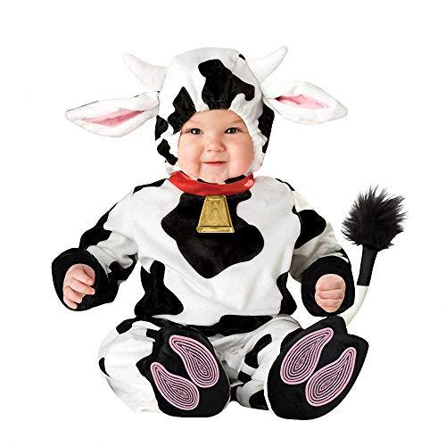 Halloween Kostüme für Baby Jungen Mädchen, Kleinkind Kleinkind Kinder Baby Dots Kuh Weihnachten Dress Up Kostüm Outfit