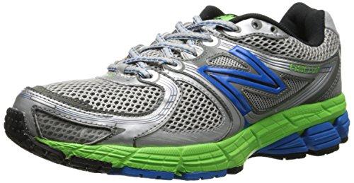 New Balance 680v2, Chaussures de Running Compétition homme Argent