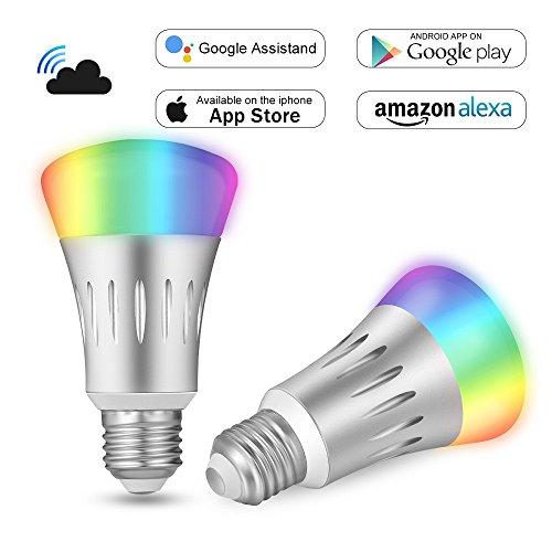 Bombilla WiFi Inteligente LED Inalambrica E27 7W