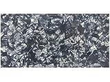 Incudo nero perlato celluloide Sheet–200x 100x 1.2mm (20,1x 10x 0,1cm)