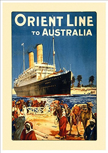 orient-cruises-to-australia-wonderful-a4-glossy-art-print-taken-from-a-rare-vintage-travel-poster