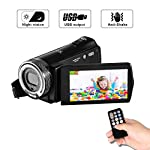 Camcorder Video Camera FHD 1080p Digital Camera 16X Zoom 20MP Camera Night Vision Videocamera 3.0 inches TFT LCD Screen with remote control