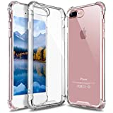 iPhone 7 Case, iPhone 8 Case Cover By DN-Alive [Transparent] [Wireless Charger Compatible] [Gel] [Silicone] [Clear] [ TPU] [Bumper] [Slim] [Thin] [Dust Proof] [Drop Proof] [Compatible With iPhone 7/8 Tempered Glass Screen Protector] [Protective] iPhone 7/8 Cover