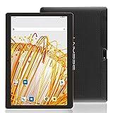 LNMBBS Tablet Android 9.0 da 10 '' con WiFi 4 GB di RAM e 64 GB di memoria Tablet PC Processore quad-core e slot Dual SIM e una fotocamera GPS OTG con slot TF (Nero)