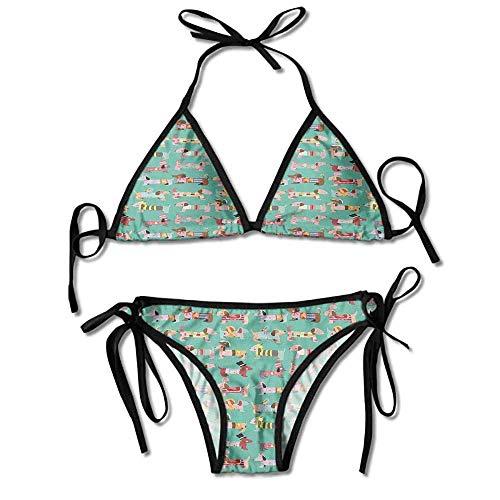 fe79cc961e20 Hot Summer Women's Bikini,Human Clothing Fun Dress Sexy Bikini 2 Pieces