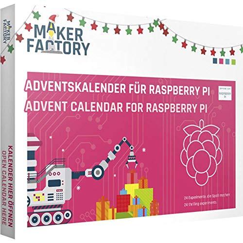 MAKERFACTORY Adventskalender für Raspberry Pi ab 14 Jahre 2019
