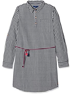 Tom Tailor Kids Checked Dress with Belt, Vestido para Niñas