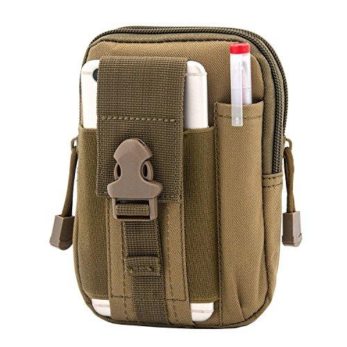 Bylove Outdoor Reisen Sport Taktische Tasche Bauchtasche, Mode Multifunktional Handytasche für Camping Wandern Outdoor (Gear S4 Mini Samsung)