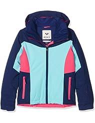 Roxy Sassy - Chaqueta de nieve para niña, color azul, talla XXL
